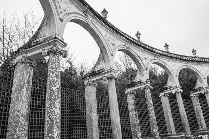 le bosquet de la colonnade